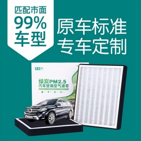 绿炭汽车空调滤芯